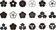 sakura flor vector - Buscar con Google