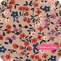Lucky Strike Red Clothesline Floral Yardage SKU# 3023-02