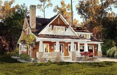 Storybook Bungalow With Screened Porch - 18266BE | 1st Floor Master Suite, Bonus Room, Bungalow, CAD Available, Cottage, Country, Craftsman, Den-Office-Library-Study, Northwest, PDF, Photo Gallery, Split Bedrooms, Vacation | Architectural Designs