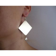 jewely.Handmade apaca earrings with minnows and silver ear wires. (€15) via Polyvore featuring jewelry and earrings