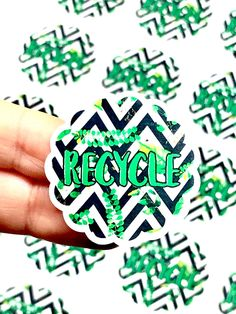 Excited to share this item from my #etsy shop: Recycle Stickers, Save Green Stickers, Save Trees Stickers, Reuse Stickers, Reduce Stickers, Save The Planet, Green Love Stickers, Scalloped Personalized Stickers, Custom Stickers, Business Labels, Business Supplies, H Monogram, Cosmetic Labels, Love Stickers, Green Print, Save The Planet