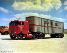 Old P-I-E Pacific Intermountain Express C.O.E. truck. - Similar to Winross White 7000