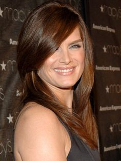 Side Swept Bangs and Hairstyles - Celebrity Side Swept Hair - Good Housekeeping