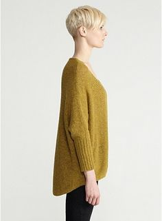 Color drift mohair sweater eileenfisher