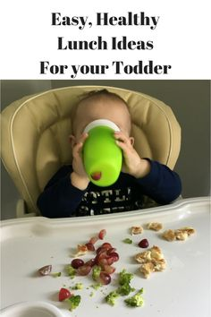 Easy, Healthy Lunch Ideas for toddlers