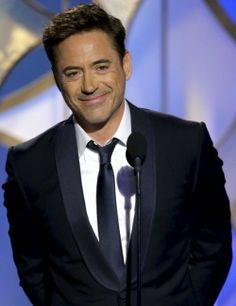Robert Downey Jr., Golden Globe Awards, January 12, 2014.