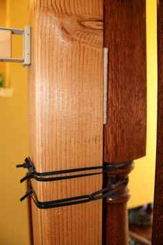Best To Mount Baby Gate To Irregularly Shaped Banister Post 400 x 300