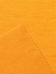 Wollen Jersey Kleur 19 Indiaas Geel