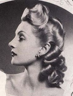 vintage beauty and hair