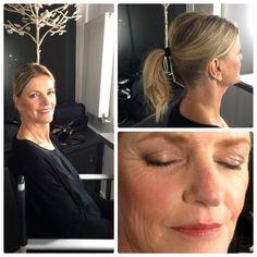 Make up voor de oudere huid.  Model: Sylvia Honselaar