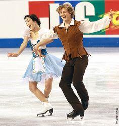 Meryl Davis & Charlie White (USA)...loved their short program costumes!