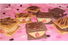 Dessert for Breast Cancer Awareness Month  MAMMO-GRAHAMS