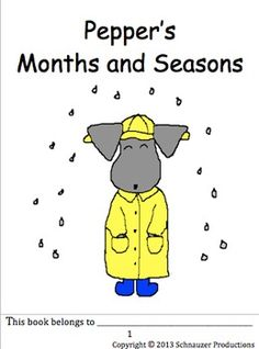 Join Pepper to discover seasons, months and days of the week in English and Spanish.  The pictures for each month show seasonal weather and not cultural celebrations.  For those in the Southern Hemisphere, go to Spanish Seasons, Months and Days of the Week with Pepper, Southern Hemisphere.