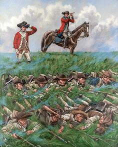 Continental Troops on Perrine's Hill, Battle of Monmouth, NJ