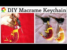 How to make Handmade Macrame Keychain full step by step video New Design...