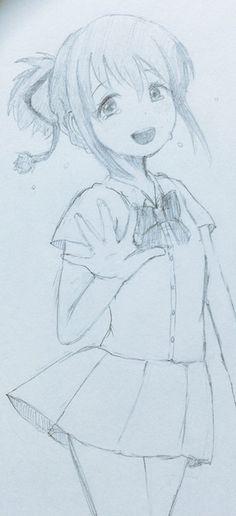 Wow! Nice and sad drawing #Kiminonawa