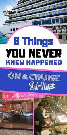 8 Things You Never Knew Happened On A Cruise Ship - During your cruise vacation, all kinds of things happen behind the scenes. Some of these may surprise you while traveling on a cruise ship. Source by cruisehive - Bahamas Cruise, Cruise Port, Cruise Travel, Cruise Vacation, Disney Cruise, Honeymoon Cruises, Vacation Deals, Italy Vacation, Packing List For Cruise