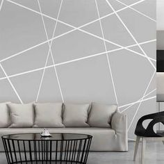 Wall Unit Designs, Living Room Tv Unit Designs, Bedroom Wall Designs, Wall Decor Design, Room Ideas Bedroom, Diy Bedroom Decor, Corner Sofa Design, Room Wall Colors, Room Wall Painting