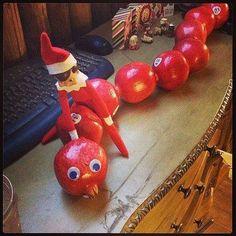 Elf on the Shelf - Apple train....