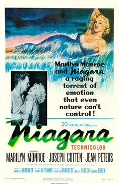 "Niagara (20th Century Fox, 1953). One Sheet (27"" X 41"").. ... Movie   Lot #86046   Heritage Auctions"