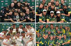 Australian Cricket Team in 2014