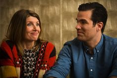 Sharon Horgan and Rob Delaney, Catastrophe  My sisters and I watched season 1 on a girls weekend away. We laughed so hard and all loved it. Can't wait for the next season.