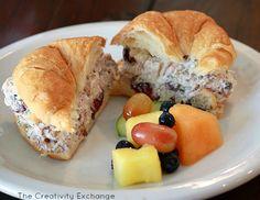 Cranberry Chicken (or Turkey) Salad {HEB Copycat Recipe}- The Creativity Exchange 2