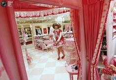 Angelic Pretty at Marui One, Angelic Pretty, Japanese Textiles, Lolita Fashion, Japanese Fashion, Alternative Fashion, Fashion Boutique, Personal Style, Bed, Lolita Style