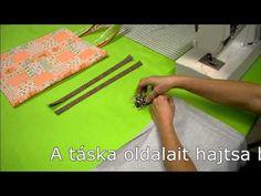 ▶ Varrótanfolyam - Egyszerű bevásárlótáska varrása 2.rész - YouTube