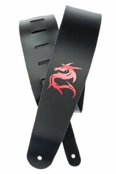 Planet Waves Icon Collection Guitar Strap, Dragon by Planet Waves. $16.30. From the Manufacturer                Add some character to your guitar with the Dragon guitar strap from Planet Waves. The Icon leather strap collection includes six edgy strap designs with icons branded into them using a unique foil stamping process that makes the designs reflective under light. Made with the same premium-quality single ply leather as used in several models of the Deluxe Series. I...