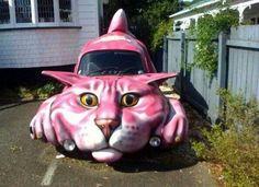 Muy original. Siempre encontrarás el coche cuando lo aparques.