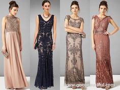 Image result for black tie bridesmaid dresses