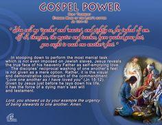 Gospel Power – HOLY THURSDAY