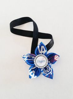 Los Angeles Dodgers Headband Toddler by LilLoveBugsCreations