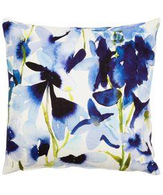 Harebell Cushion, Bluebellgray. Liberty Print
