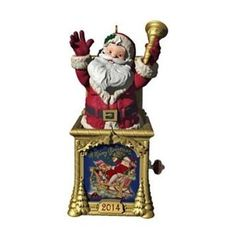 2014 Santa Certified Hallmark Christmas Ornament - Hooked on Hallmark Ornaments