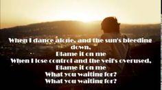 George Ezra - Blame It On Me Lyrics - YouTube