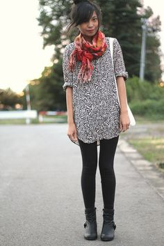 this girl's outfits are always perfect