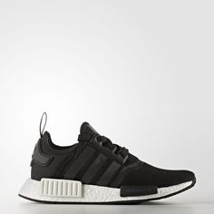 Casual style and technical running features collide in the modern and effortlessly casual adidas Originals NMD Runner. - Three upper combinations include stretchy jersey and canvas with a reflective,