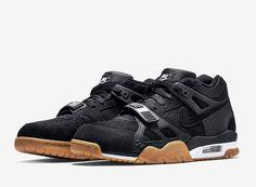 Nike Air Trainer 3 Black Suede,