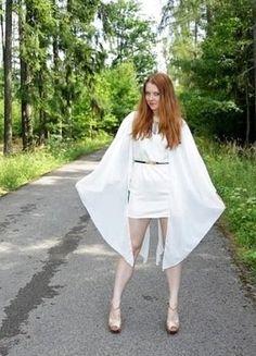 Kupuj mé předměty na #vinted http://www.vinted.cz/damske-obleceni/kratke-saty/16050107-bile-saty-goddess-london