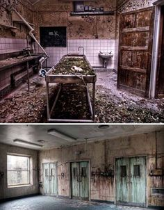 some abandoned places are truly stunningly beautiful. Some of theme were once a busy and crowded place or workplace
