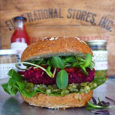 Labor Day, Plant Eater's Edition: Vegan Salads, 'Must Have' Condiments + Beet Veggie Burger Recipe // INMYBOWL.com