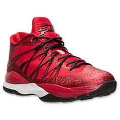 Men's Jordan CP3 VII AE Basketball Shoes | FinishLine.com | Gym Red/Black/White