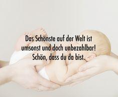 Schöne Sprüche zur Geburt