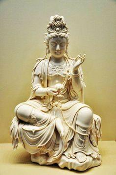 Sculpture Art, Sculptures, Bodh Gaya, Chinese Buddha, Statue Tattoo, Buddha Art, Goddess Art, Guanyin, Japan