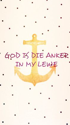 God is die anker in my lewe Rain Quotes, Jesus Quotes, Bible Quotes, Qoutes, Christian Motivation, Christian Quotes, I Love You God, My Love, Afrikaanse Quotes