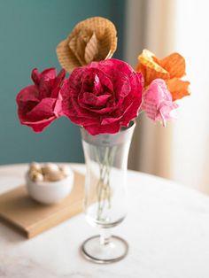 Paper bouquet idea...BHG!