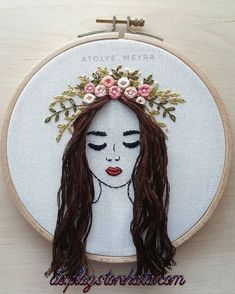 Embroidery and sewing embroidery and sewing- Sticken und Nähen Sticken und Nähen Embroidery and sewing embroidery and sewing - Hand Embroidery Videos, Simple Embroidery, Learn Embroidery, Hand Embroidery Stitches, Silk Ribbon Embroidery, Modern Embroidery, Crewel Embroidery, Embroidery Hoop Art, Hand Embroidery Designs