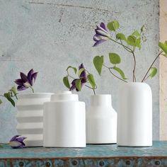 Shane Powers Ceramic Bud Vases